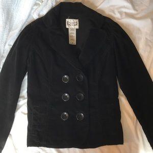 Levi's Navy Corduroy 6 Button blazer